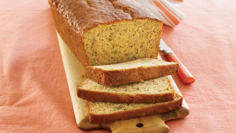 Heart Smart Banana Bread