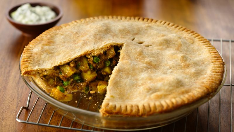 Southeast Asian Samosa Pot Pie