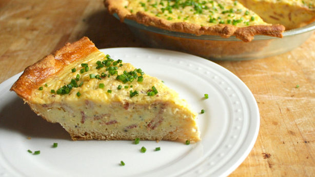 Bacon-Crescent Quiche
