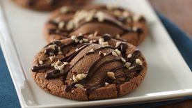 Stuffed Hazelnut Cookies