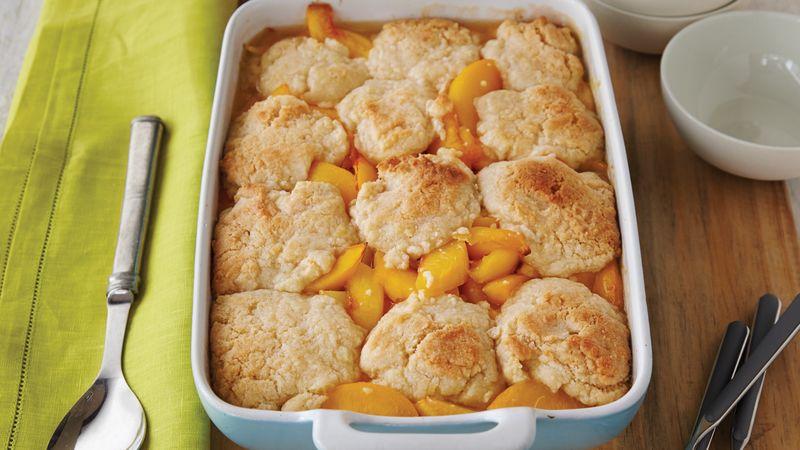 Peach-Nectarine Cobbler