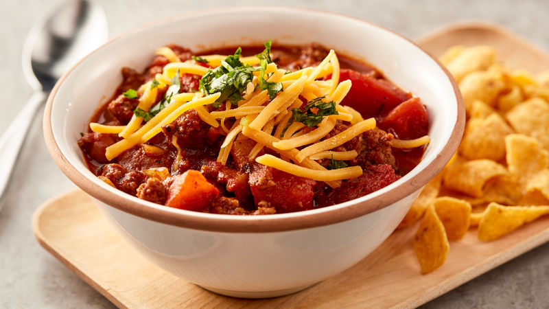Slow Cooker Family Favorite Chili
