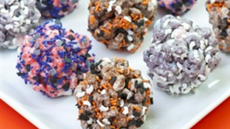 """Monster """"Mash""""mallow Cereal Treats"""