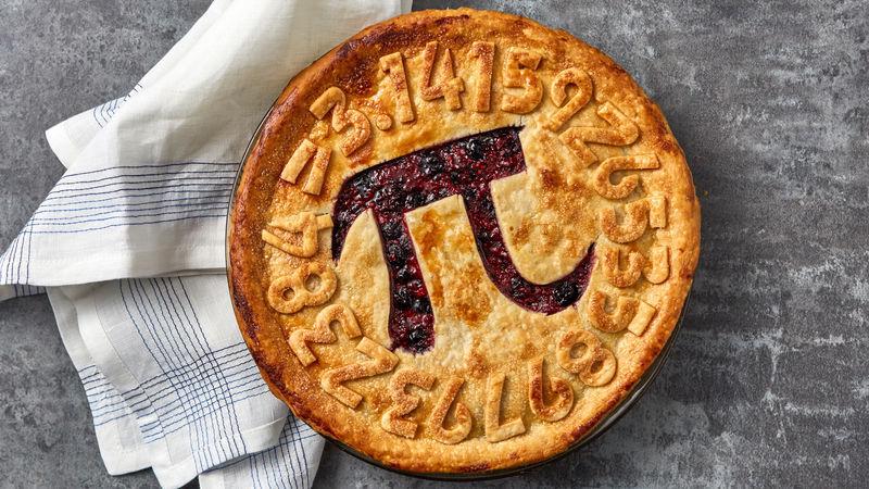 Triple Berry Pi Day Pie