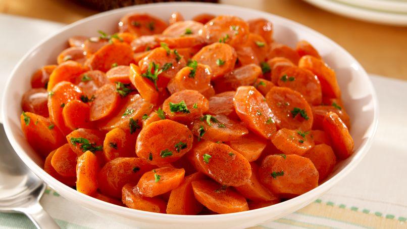 Zanahorias Glaseadas con Canela