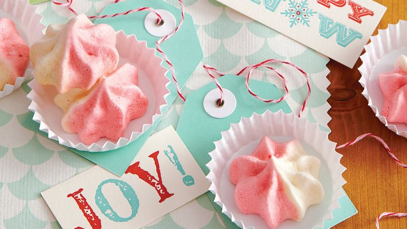 Peppermint Meringues Recipe - BettyCrocker.com