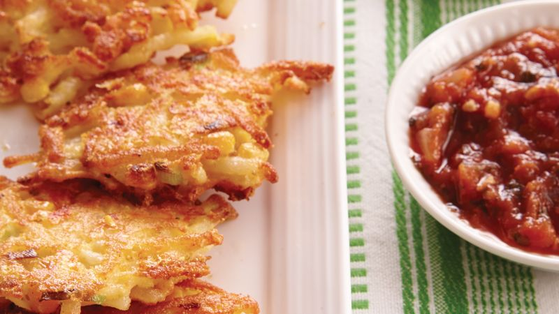 Cheddar Potato Corn Cakes