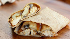 Gourmet Chicken Marsala Wrap