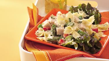 Fresh and Light Turkey and Bow-Tie Salad