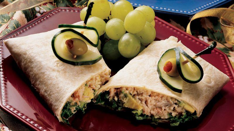 Crabmeat and Avocado Wraps