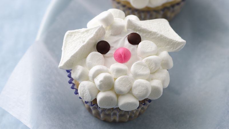 Lamb Cupcakes Recipe Bettycrocker Com