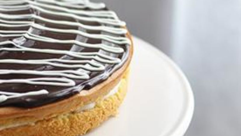 Boston Yogurt-Cream Pie (Gluten Free)