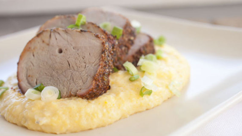 Cajun Pork and Grits