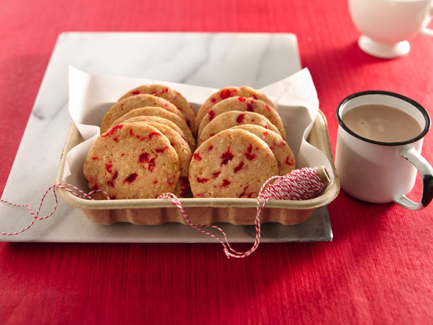Cherry-Almond Refrigerator Cookies