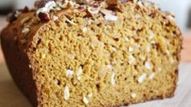 Vegan Pumpkin-Coconut Bread