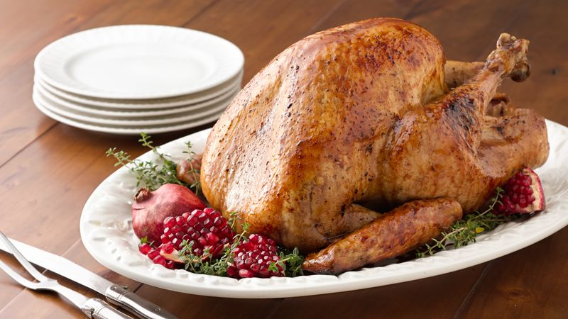 Gluten-Free Honey Pomegranate Roasted Turkey