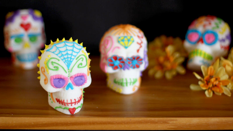 Image result for sugar skulls