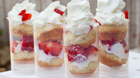 Grilled Strawberry Shortcake Push-It-Up Pops