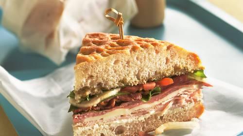 Make-Ahead Dagwood Sandwiches image