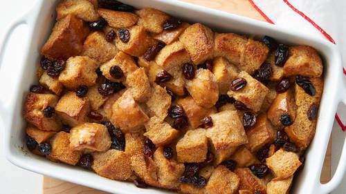 Old-Fashioned Bread Pudding_image