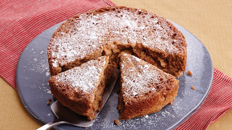 Slow-Cooker Double-Apple Cake