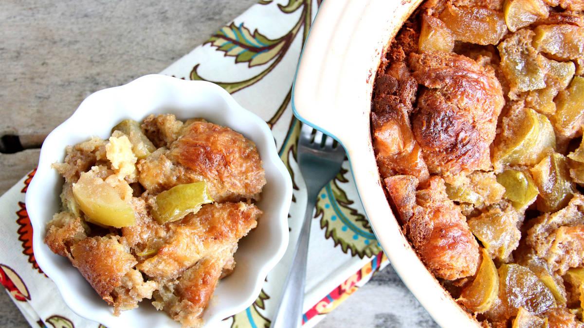 Apple Dumpling French Toast Bake