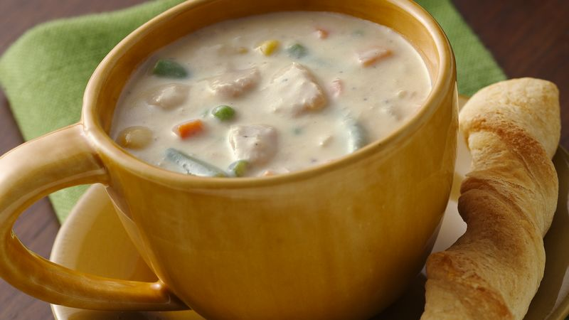 Cheesy Tuna-Vegetable Chowder
