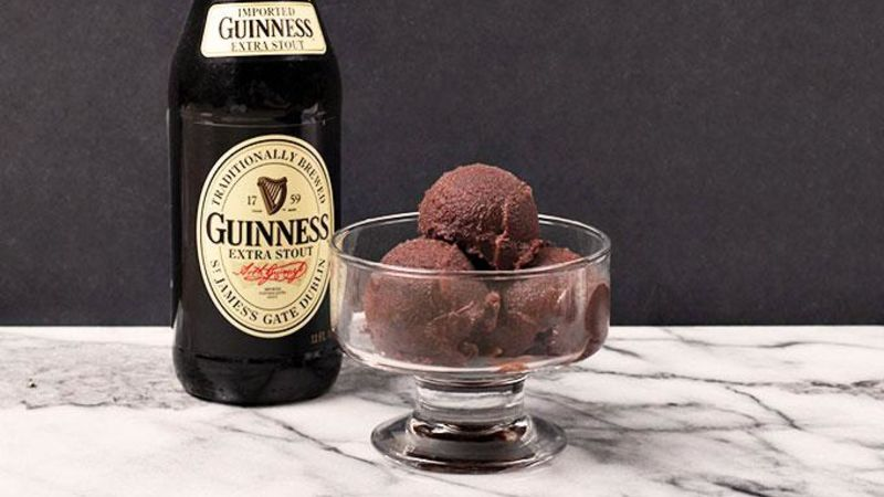 Chocolate Guinness Sorbet