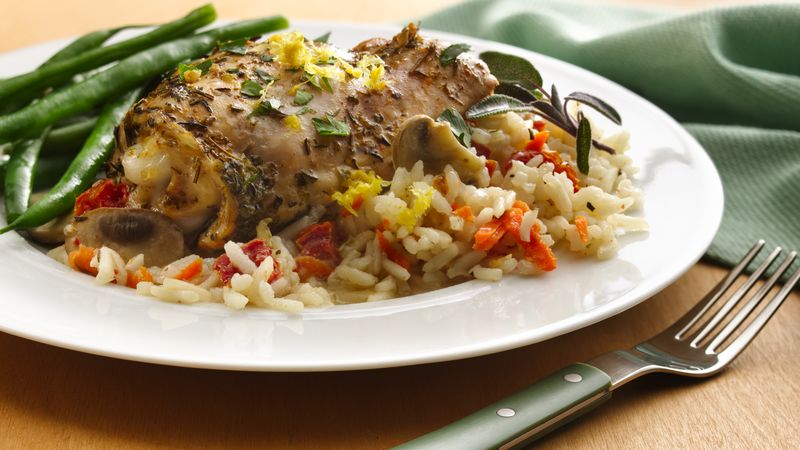 Country French Chicken and Rice