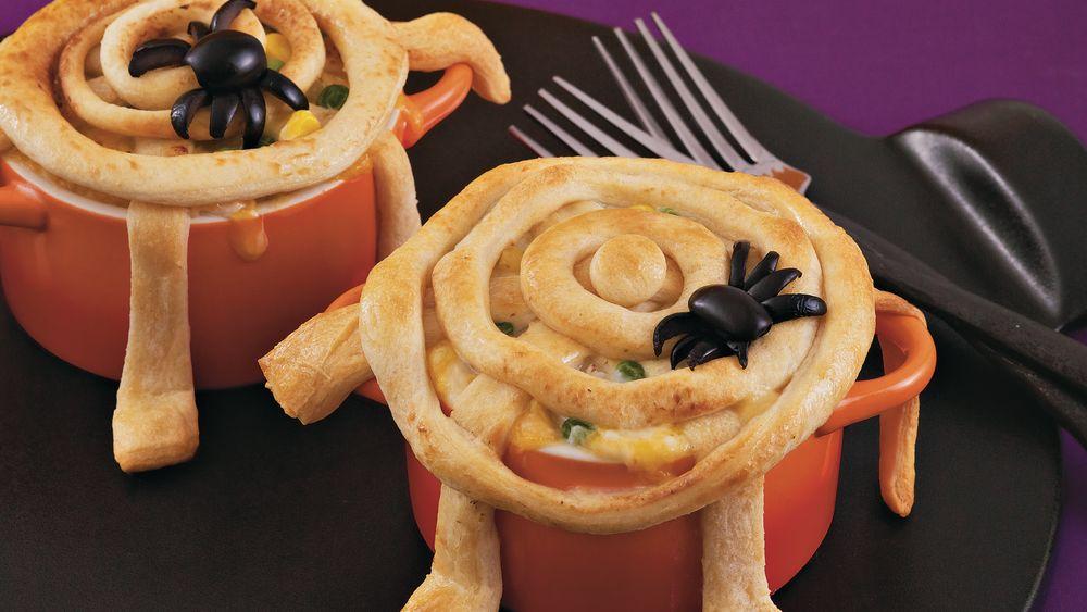 Spiderweb Pot Pies