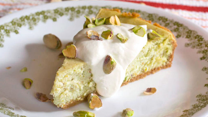 Pistachio Cheesecake Recipe - Tablespoon.com