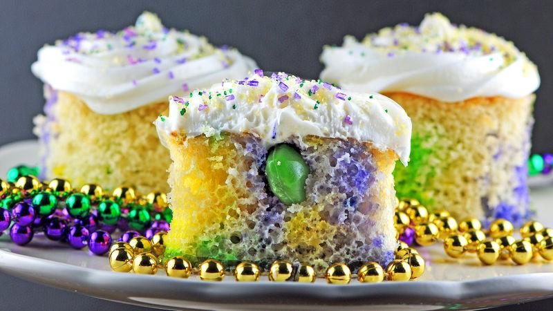Mini Boozy King Cakes Recipe - Tablespoon.com
