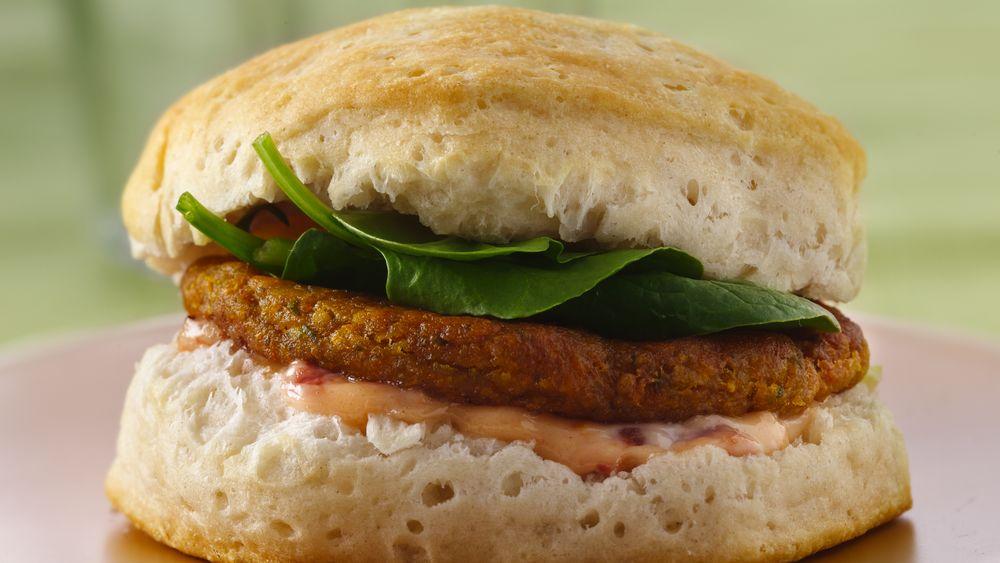 Falafel Sandwiches with Fire-Roasted Tomato Aioli