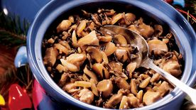 Chicken Wild Rice Amandine