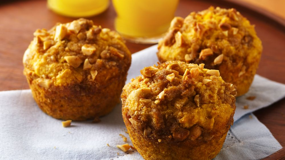 Sweet Potato Streusel Muffins
