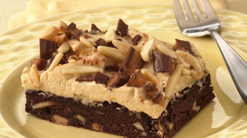 Almond-Toffee-Mocha Squares