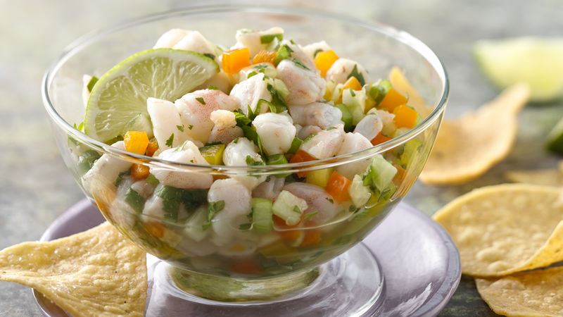 Shrimp Ceviche with Jalapeño