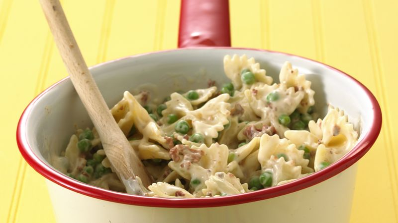 Bow Tie Pasta and Peas