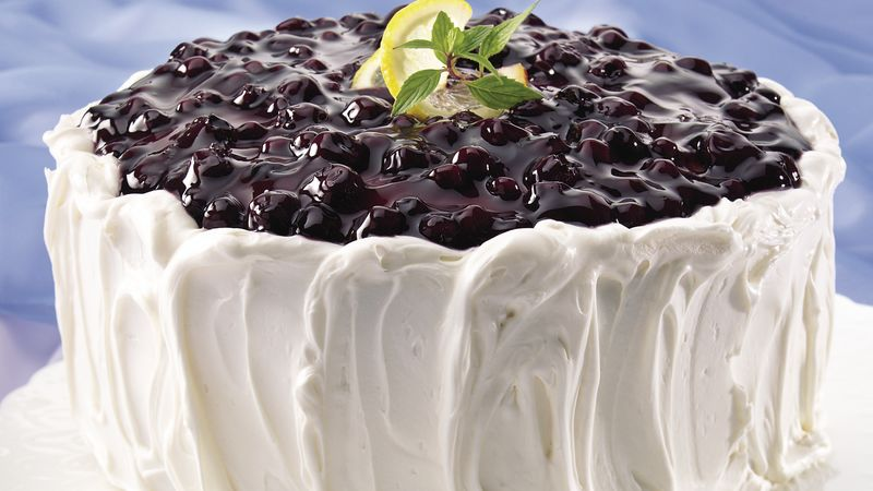 Blueberry Lemon Cake Recipe Bettycrocker Com