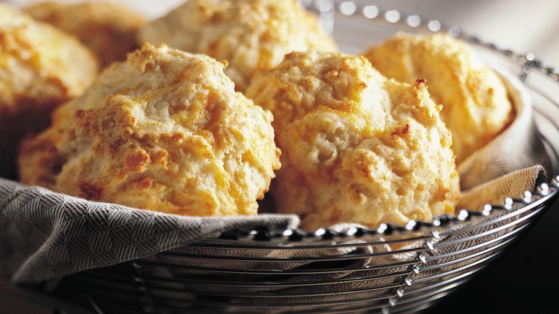 Bisquick Heart Smart Cheese Garlic Biscuits Recipe Bettycrocker Com