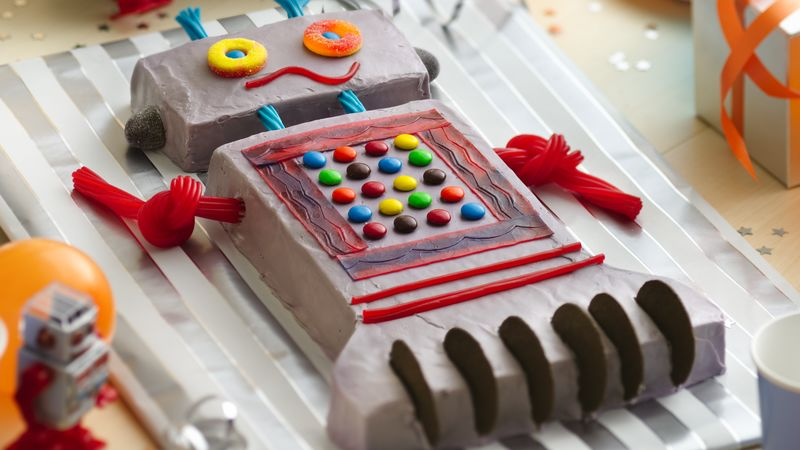 Robot Cake Recipe Bettycrocker
