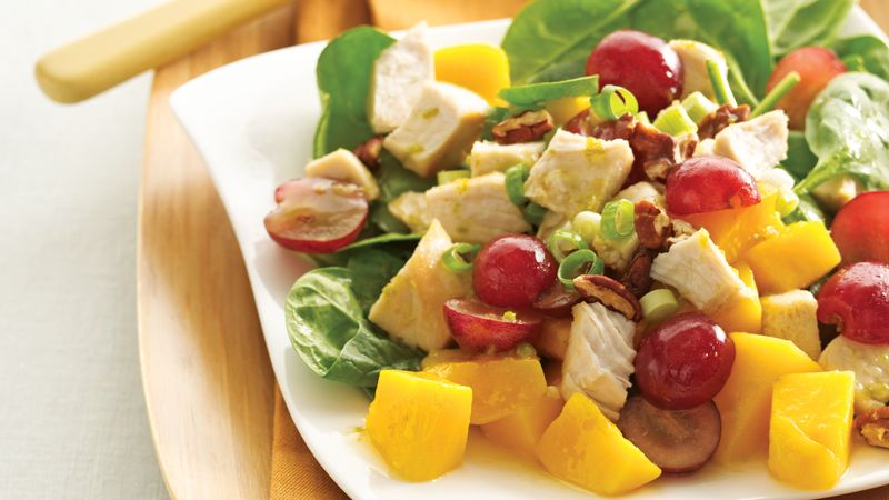 Gingered Chicken and Fruit Salad