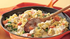 Turkey Stroganoff Skillet Supper