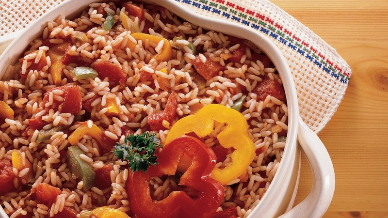 Southwestern Rice Casserole