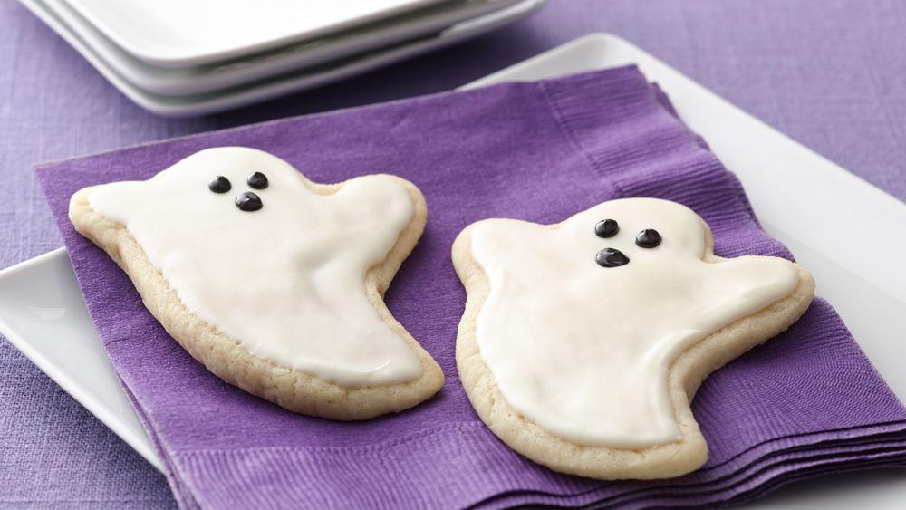 Ghost Sugar Cookie Cutouts recipe from Pillsbury.com