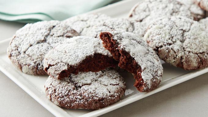 2-Ingredient Fudge Brownie Cookies