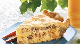 Potato-Sausage Quiche