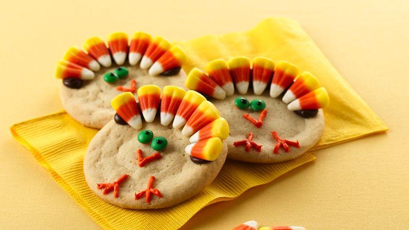 Thanksgiving Turkey Cookies Recipe