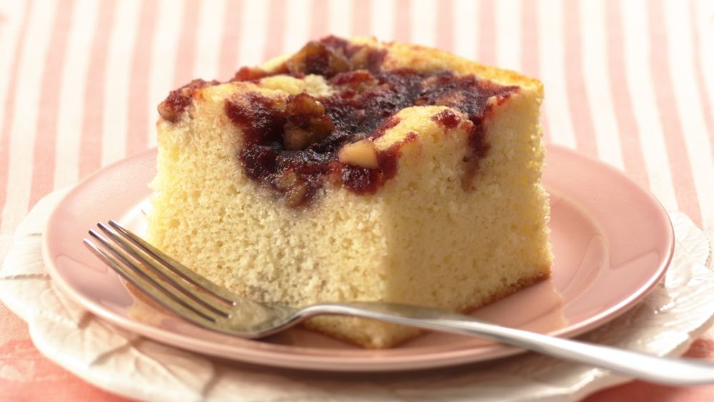 Cranberry-Topped Cake
