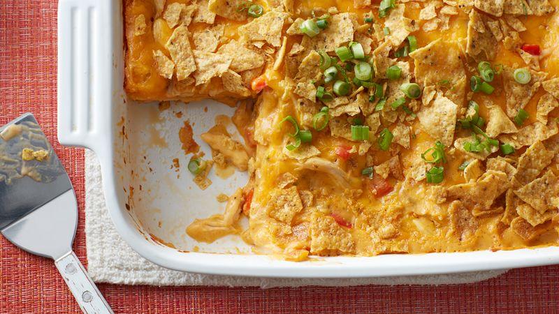 Chicken Queso Lasagna